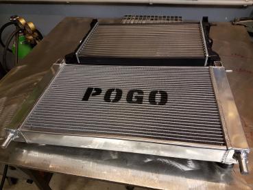 GEN3 Wasserkühler Aluminium FIAT Uno Turbo MK1 / MK2 '83 - '95 / 52mm